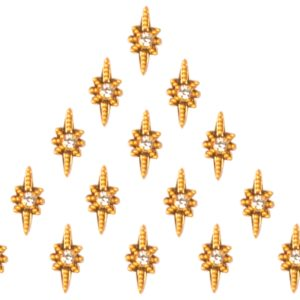 Forehead bindi jewelry