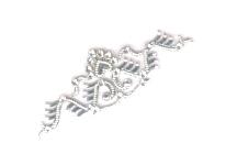 Silver arm jewelry