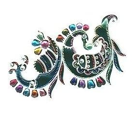 beautiful peacock tattoo designs