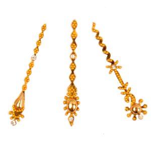 gold bindi