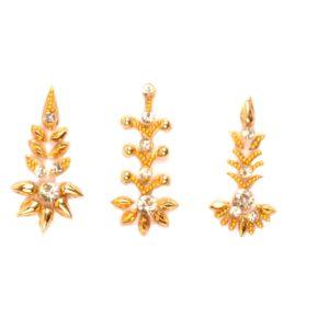 Designer gold bindi