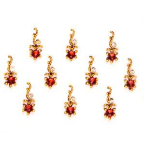 Indian bindi jewelry