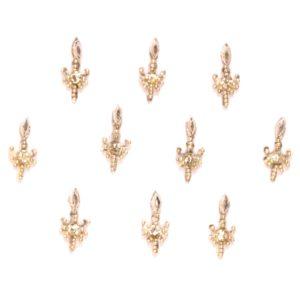 Silver bindi jewels