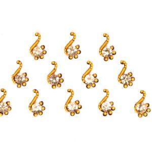gold bindi jewelry
