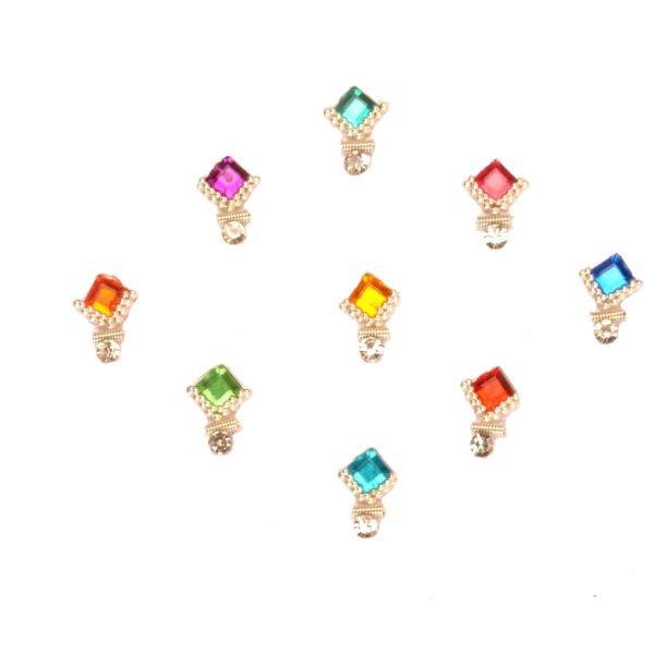 Multi color bindis
